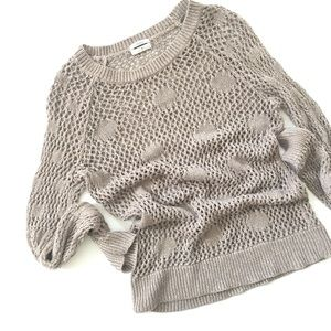🆕{Listing} Madewell Metallic Dot Sweater